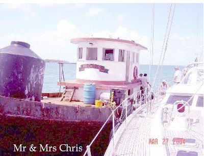 Mr and Mrs Chris