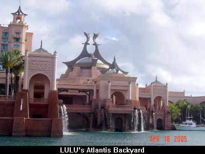 LULU's Atlantis Backyard